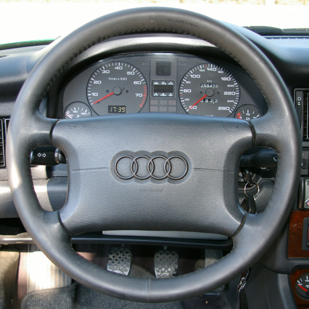 [How To Replace Airbag 1991 Audi 80]